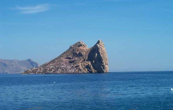 Isla del Fraile. Aguilas
