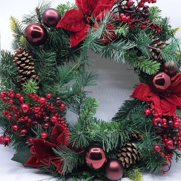 Belissimo Wreath by Masons Home Decor