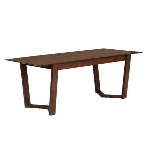 vitas cocoa extendable table by masons home decor