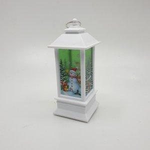 White Snowman Lantern Holder by Masons Home Decor