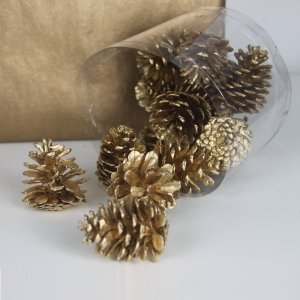 Mini Pine Cone Gold by Masons Home Decor Singapore (1)