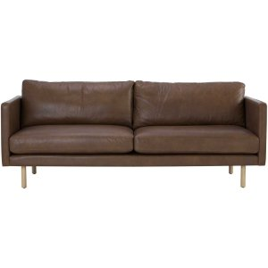 rexton brown full leather sofa by masons home decor singapore