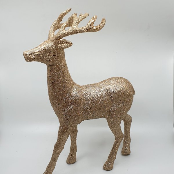 Glittery Reindeer by Masons Home Decor
