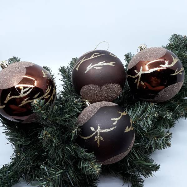 Cocoa Baubles By Masons Home Decor