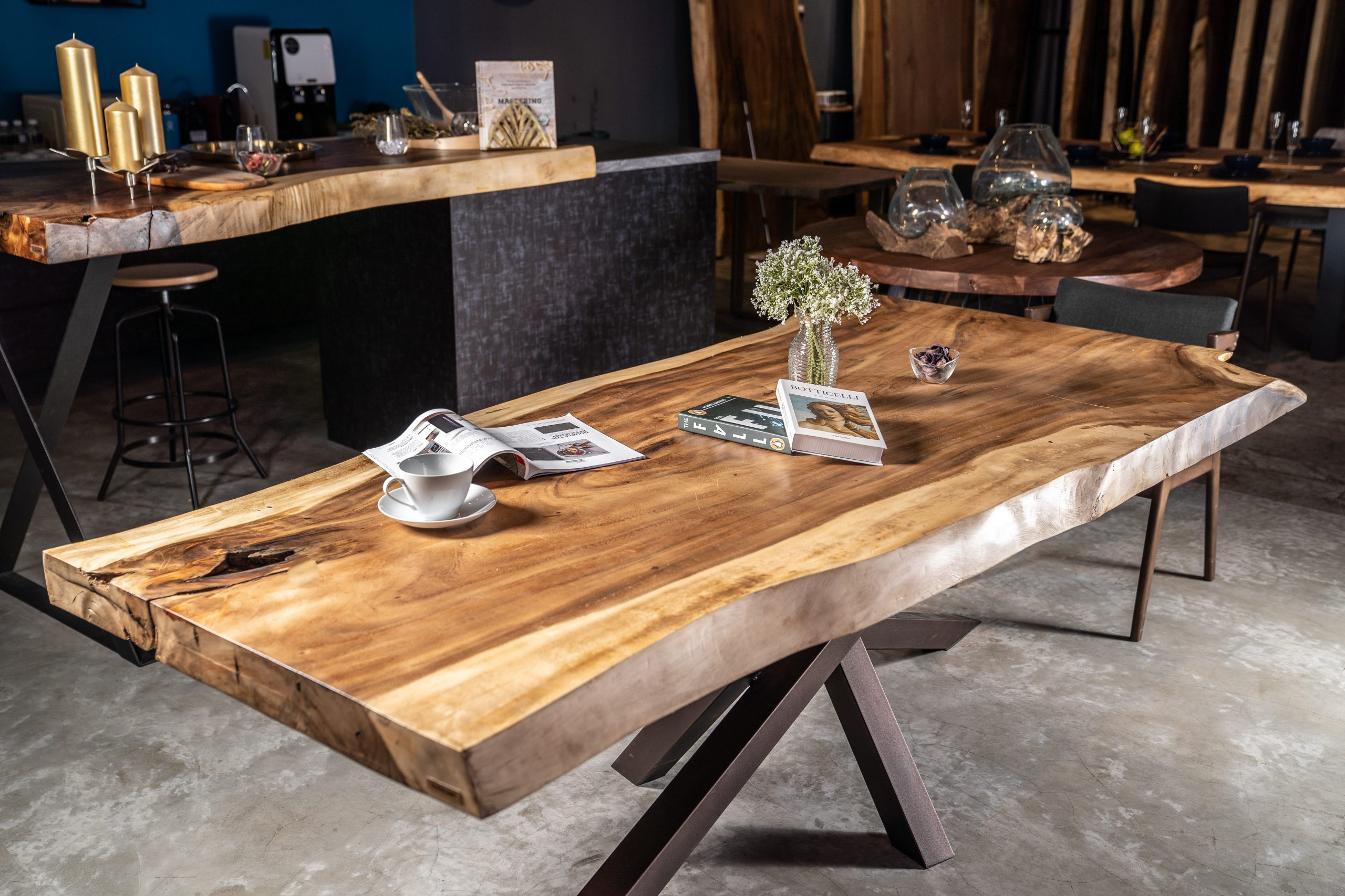 Searched a lot to buy a dining table, but this one is the best price for 4 people table. Suar Wood Dining Table - Masons Home Decor