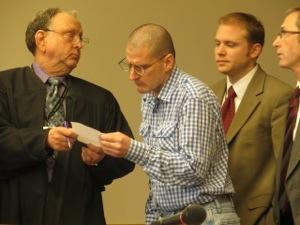 Judge Cooper, McCallum, Glancy and Spaniola.
