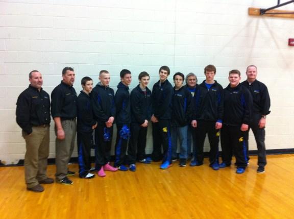 MCC wrestling team.