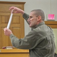 McCallum in his kidnapping trial