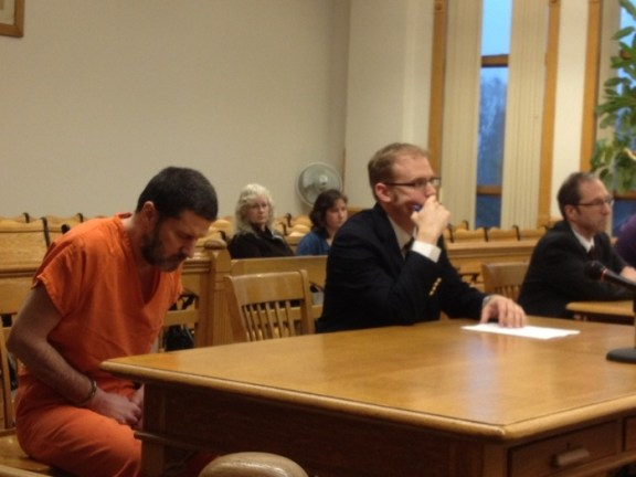 Mark McCallum awaits sentencing.