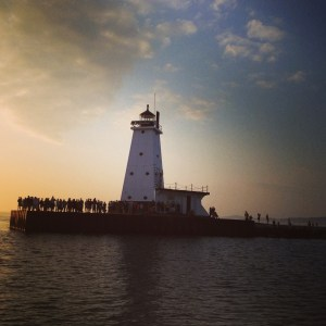 Ludington North Breakwater Lighthouse. Photography by Rob Alway, www.alwayphotography.com