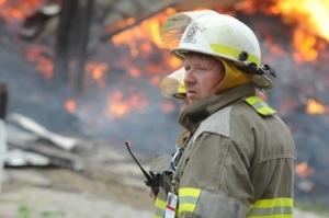 RIverton Fire Chief Joe Cooper