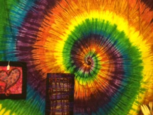 Some of the fabric art