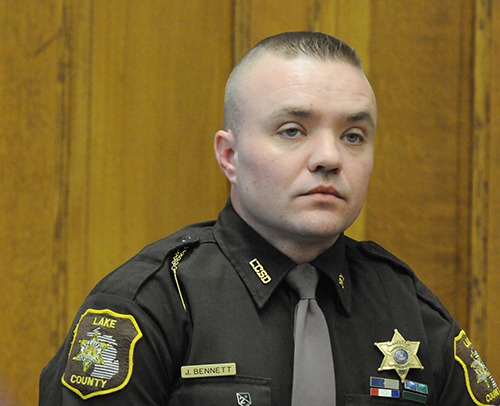Lake County sheriff deputy John Bennett testifies.