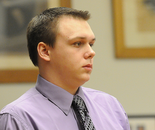 Eric Knysz on day 5 of his trial.