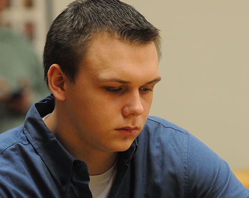 Eric Knysz in court Friday.