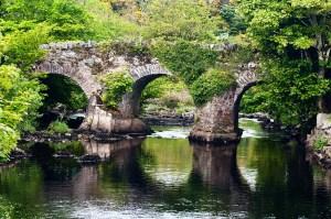 A bridge in Clifden, Co. Galway.