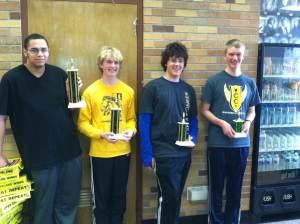 High school winners
