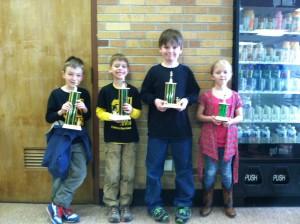 Lower elementary winners