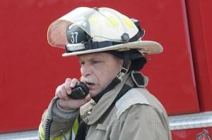 Grant Twp. Fire Chief Ron Melchert