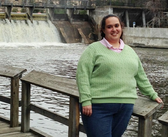 Katrina Hernandez at the Ludington State Park.