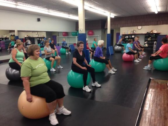 There are many fitness classes to choose from at Lakeside Rehabilitation Family Fitness in downtown Hart.