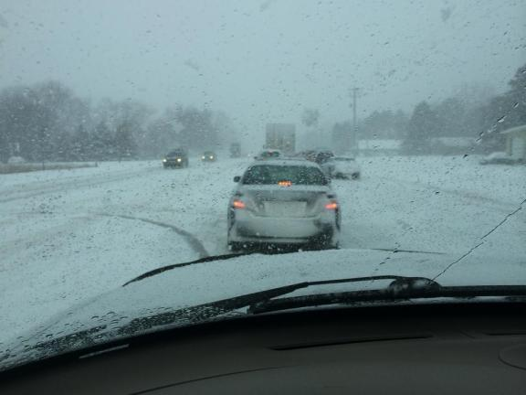 Traffic crash at U.S. 10 and Quarterline Rd. Photo from Melissa Reed