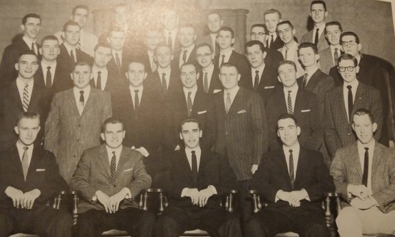 A picture of Donald Koepfer and his U of T classmates.