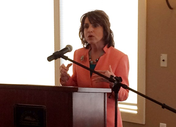 Lisa Gigliotti speaks about end of life decisions.