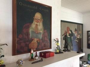 Original Oswald Crumb drawings by Robert Stearns