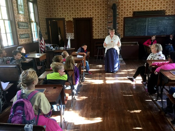 historic white pine village history in action school