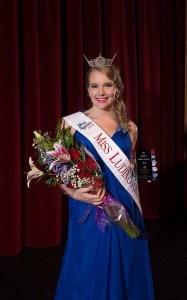 Miss Ludington Area 2016 Shelby Soberalski.