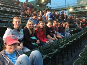 Ludington chapter was part of a successful attempt to break a Guinnes Book of World Records at the BPA Main Event at Fenway Park.