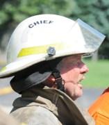 Scottville Fire Chief Dale Larr