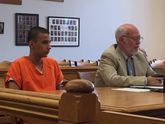 Garcia with his attorney, Douglas Stevenson.