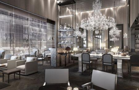 baccarat hotel restaurante chevalier