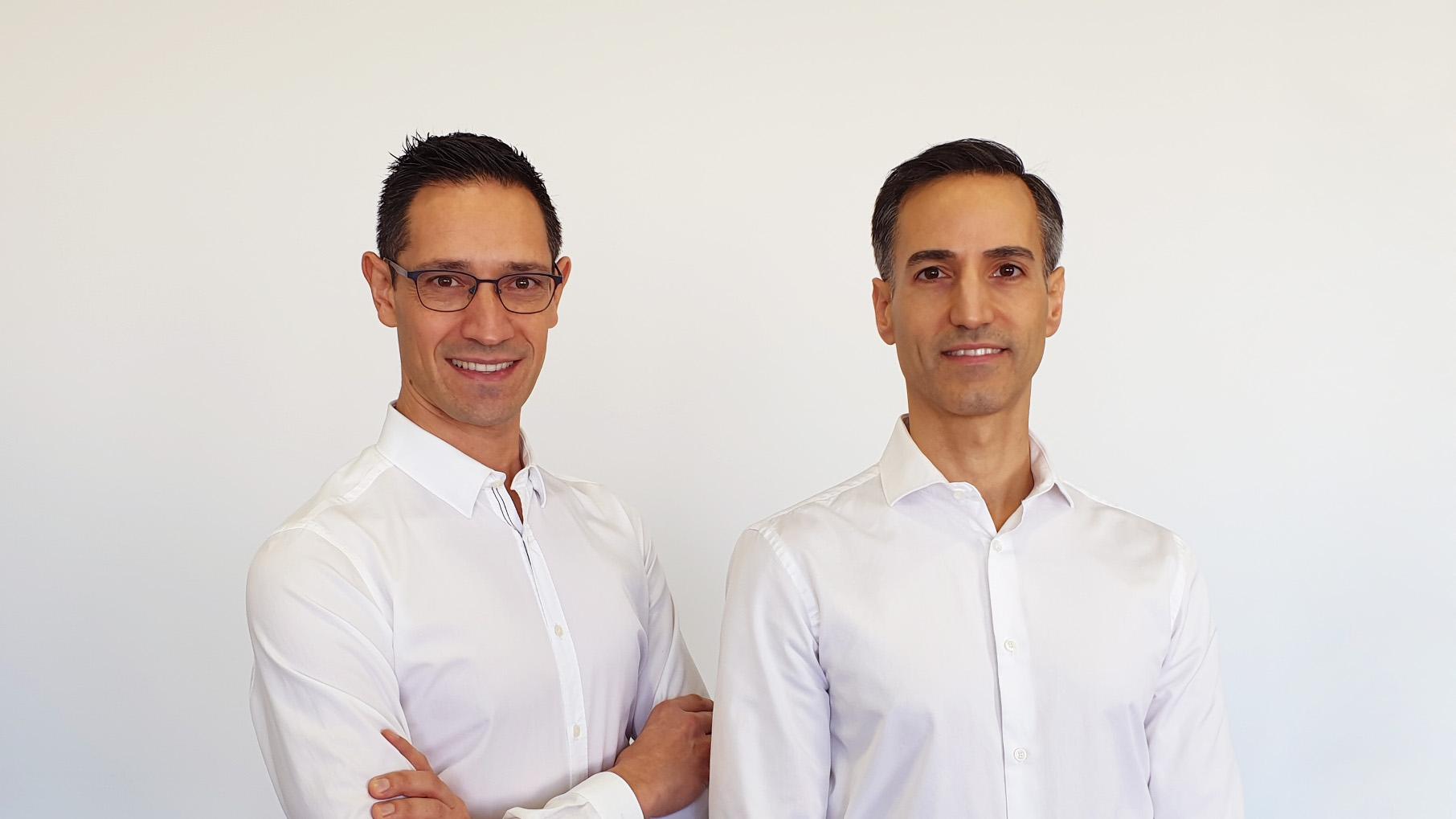 Daniel Blanco, Director de comunicación de Reverde y Pablo Vidal, Nutricionista y Coach.