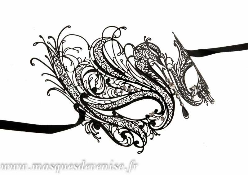 Masque De Venise En Papier Mach Masques Venitiens De