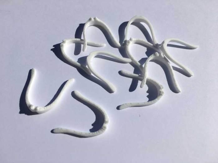 pince nez étanchéité blanc