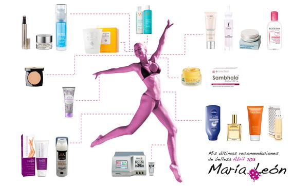 recomendaciones de belleza Abril 2013