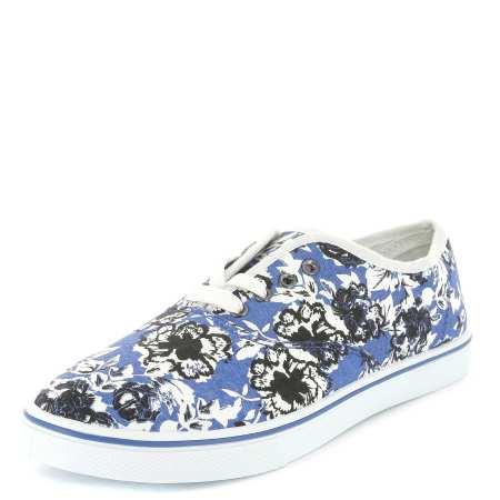 flores azules bambas kiabi