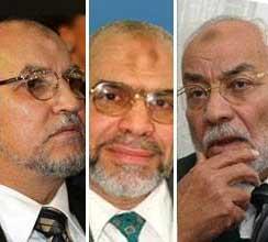 عاكف و غزلان و العريان ودفاع الإخوان المسلمين عن ايران في مواجهة السعودية للحوثيين