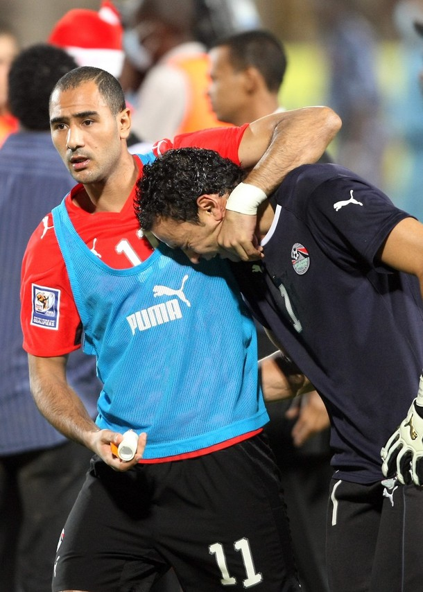 عصام الحضري بعد احداث مباراة مصر والجزائر : ما فعله الجزائريين ارهاب حقيقي