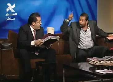 وصلة ردح بين ايمن نور و رجب حميدة بس مين العميل ومين الحرامي | فيديو