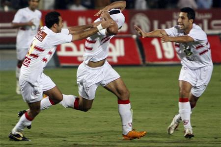 مباراة الزمالك والمصري على ستاد القاهرة اليوم