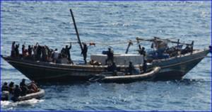 اعتقال 13 صياد مصري في ليبيا