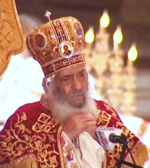 البابا شنودة احتفل مع أهل الاسكندرية بعيد جلوسه الـ38