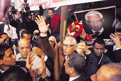 فوز مكرم محمد احمد في انتخابات نقابة الصحفيين على ضياء رشوان
