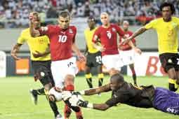 نتيجة مباراة مصر والكاميرون
