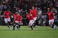 المنتخب المصري يستعد للقتال في مباراة مصر وغانا