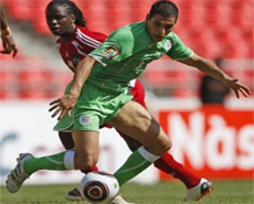 اول هدف للجزائر في مرمى مالى | نتيجة مباراة الجزائر ومالى